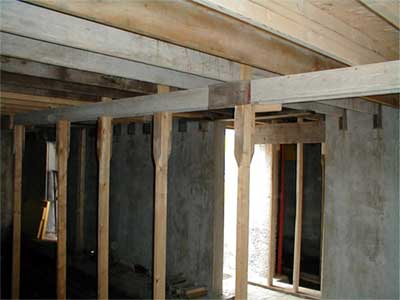 bracing for concrete floor