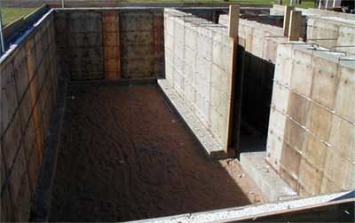 Staub design llc aac construction for Poured concrete basement cost
